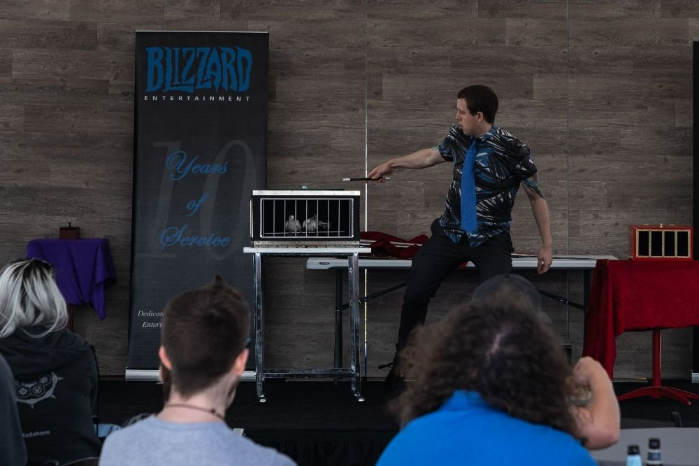 performing for blizzard entertainment