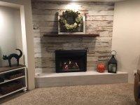 Rustic Fireplace Sacramento. Corrugated Metal Fireplace ...