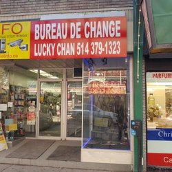 photo of bureau de change lucky chan montreal qc canada