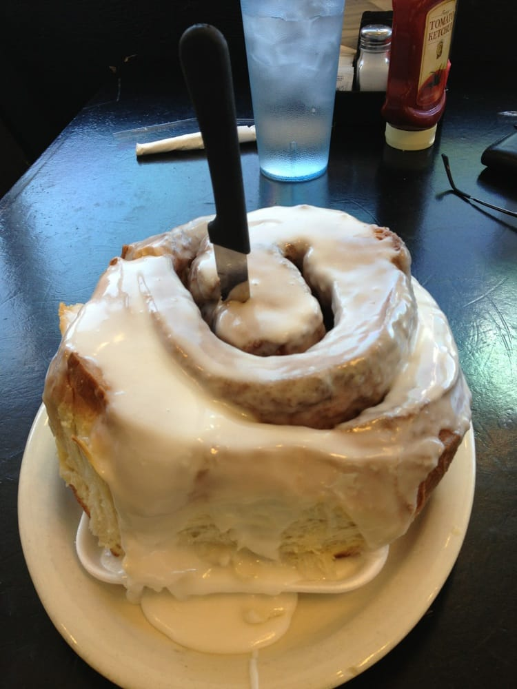 That Is The Biggest Cinnamon Roll Ever 3 Pounds