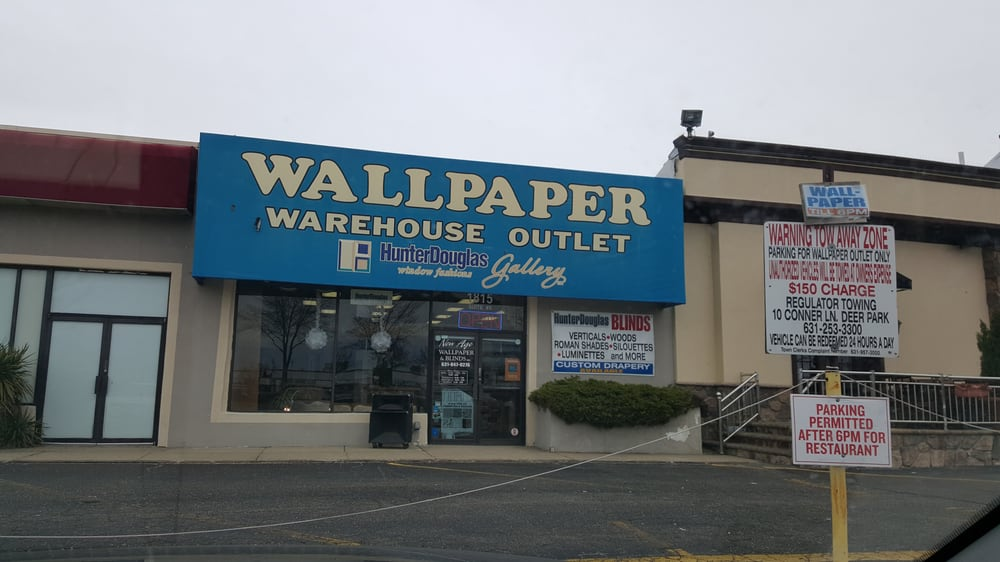 Wallpaper Warehouse Outlet - Hunter Douglas - Request a Quote - Wallpapering - 1815 Broadhollow Rd Ste 5. Farmingdale. NY - Phone Number - Yelp