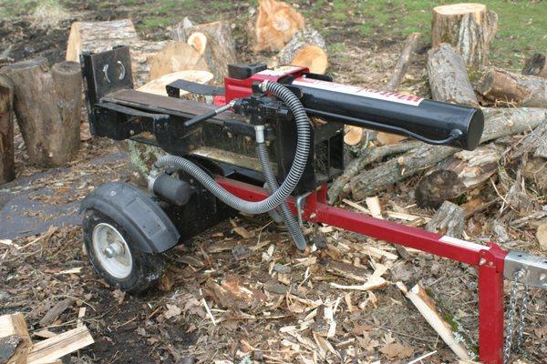 White 21 Ton Log Splitter