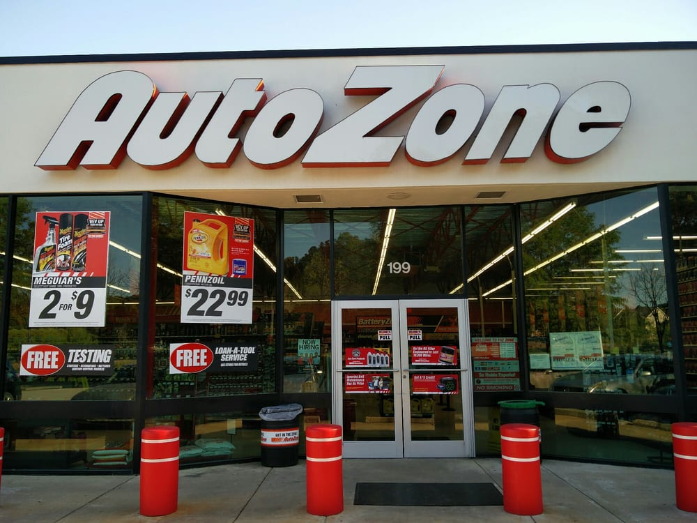 Autozone  Auto Parts  Supplies  199 High House Rd Cary
