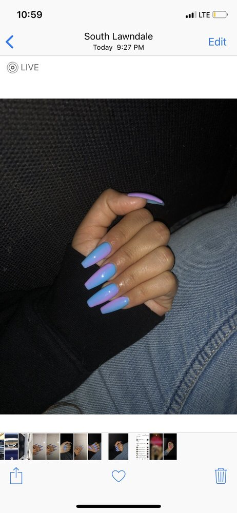 Nail Shop On Imperial And Crenshaw : imperial, crenshaw, Inglewood, Salon, Cards, California, Giftly