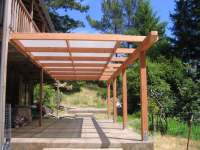 Pergola with shade cloth | Yelp