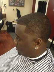taper side burns cut