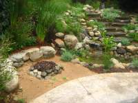Fire pit and water feature | Yelp