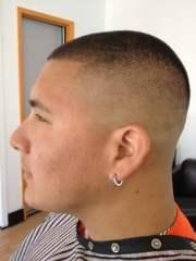 bald fade mens styles