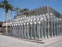 Los Angeles County Museum of Art. A whole bunch of lamp ...
