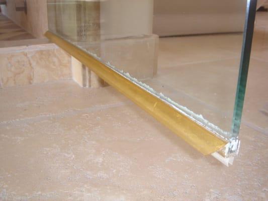 shower door sweep  Yelp