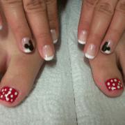 disney themed nails 21st