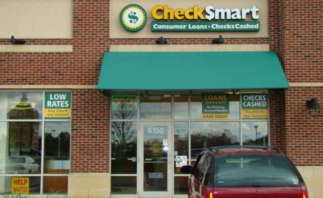 Checksmart Check Cashing Pay Day Loans 6150 Gender Rd