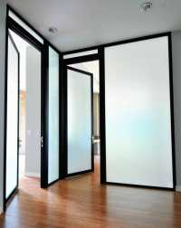 Gorgeous Semi-Translucent Glass for Swing Doors - Yelp