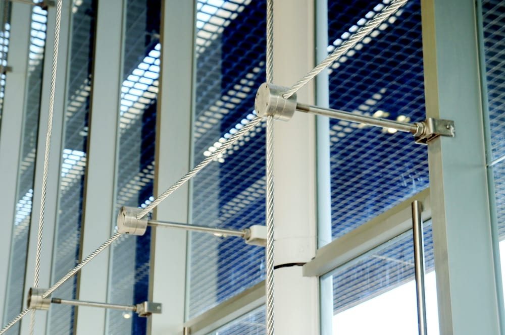Curtain wall  Cable support system  Yelp