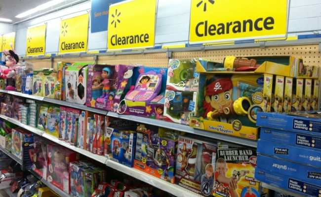 Lots Of Clearance Toys Down An Entire Aisle Yelp