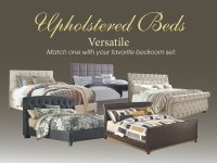 Upholstered Beds by Ashley Furniture! - Yelp