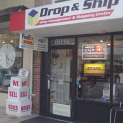 drop and ship closed