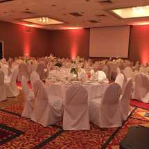 Lovely Wedding Reception Held Hotel. 200