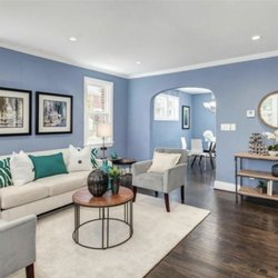 colors for my living room color with brown furniture 17 photos painters 2562 james madison cir photo of herndon va united states painting and hardwood