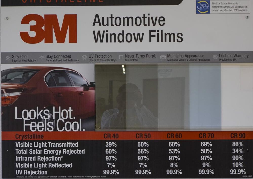 3m Chart Tint Shades Window