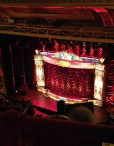 photos for walter kerr theatre also view from front row balcony had to lean  bit times but overall rh yelp