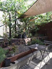 Side patio area - Yelp