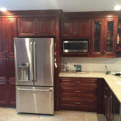 Kitchen To Go Cabinets Faucet Replacement Parts St James Mahogany Remodel And New Floor Plan Thanks Keane Photo Of Hartford Ct United States