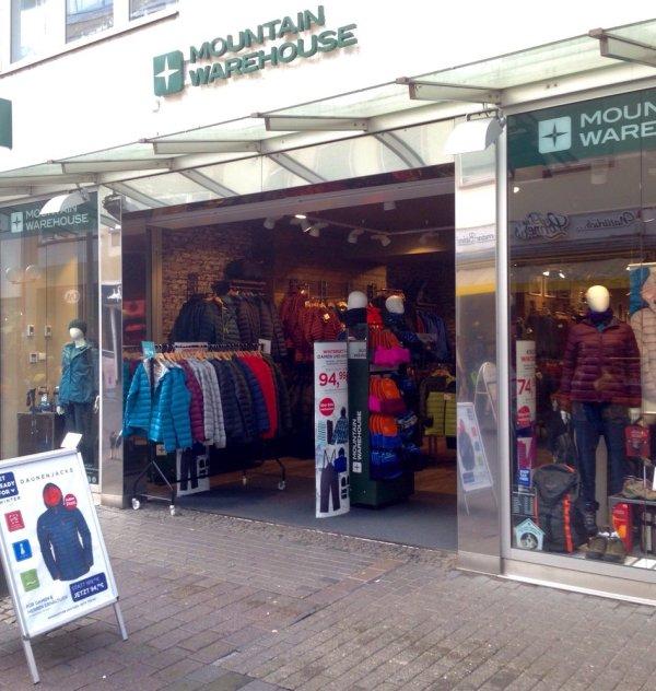 mountain warehouse - Sports Wear - Brotstr. 44, Trier ...