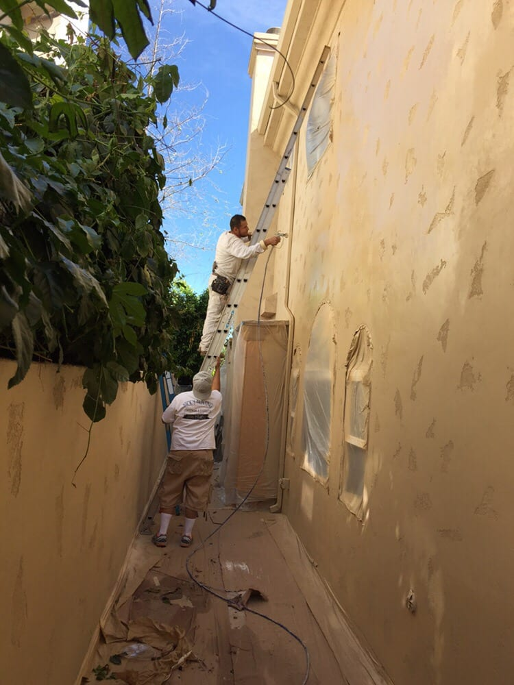 Painting the exterior in Valley Vilage  Yelp