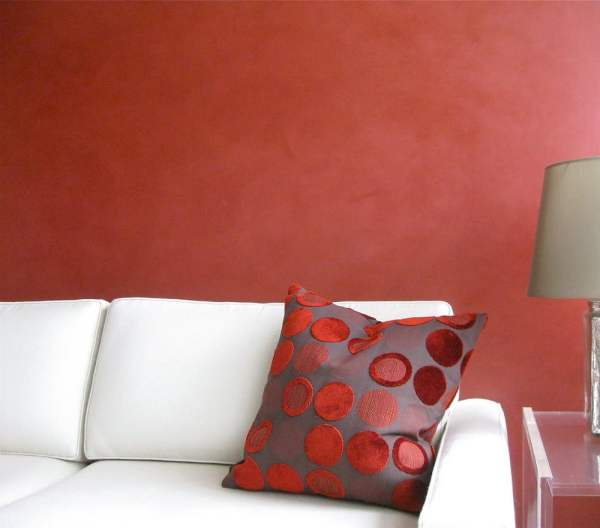 Red Venetian Plaster, NYC / G.L. Decorative Finishes - Yelp