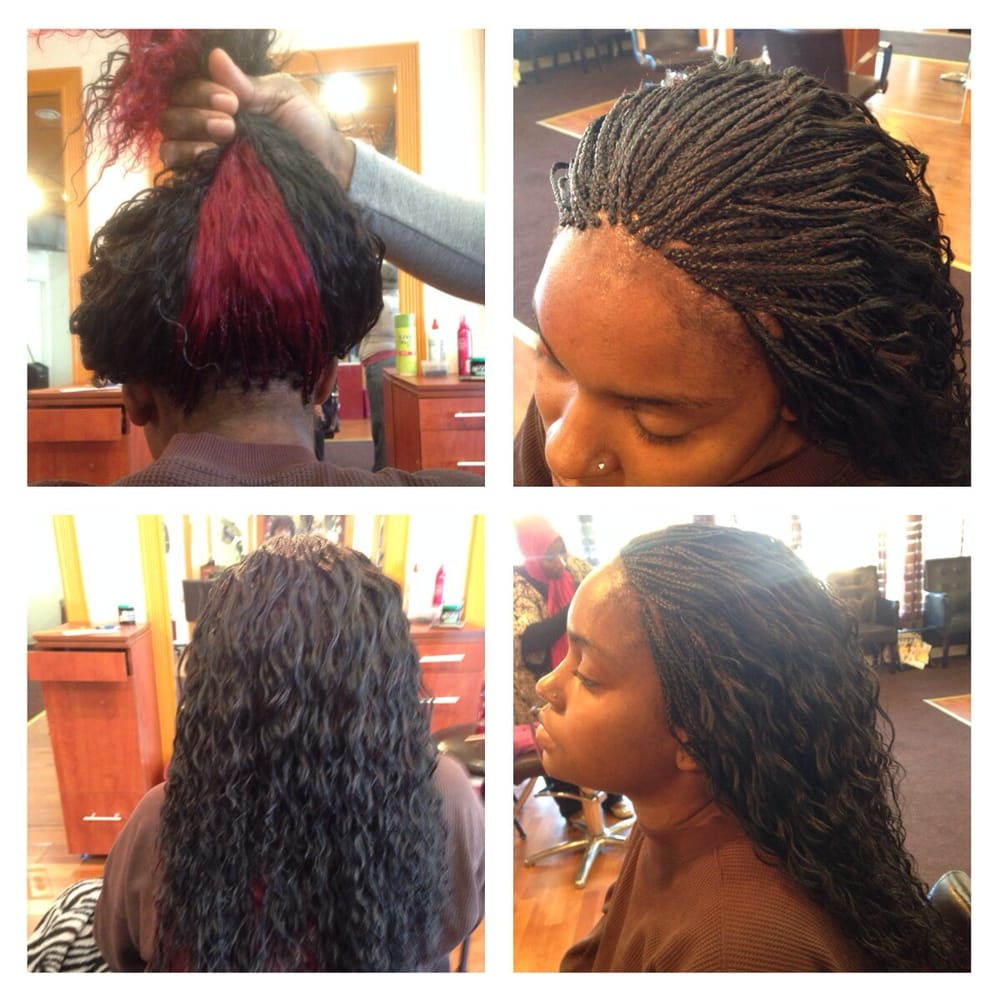 Wet N Wavy Human Hair Micro Braids Done In 45 Hours Yelp