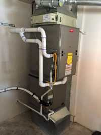 We replaced a Bryant 80% efficient furnace with a 96% ...