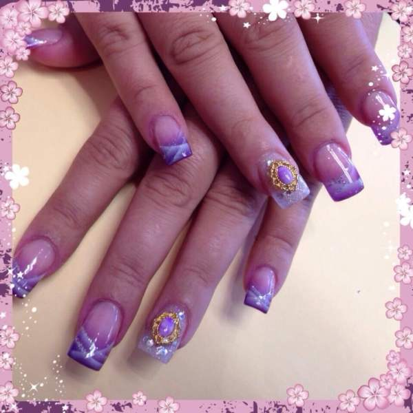Airbrush Nails Art With 3d Charm - Yelp