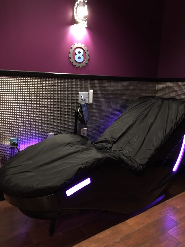 Hydromassage chairs for black card members  Yelp