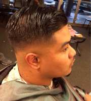 comb over styled with lay rite