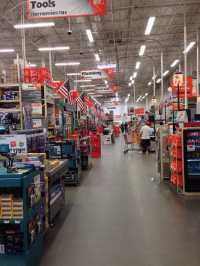 It may look like every other Home Depot on the inside but ...
