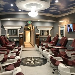 are massage chairs any good english wing chair luxury nails - 37 photos nail salons 7225 heritage square dr, granger, in phone number yelp