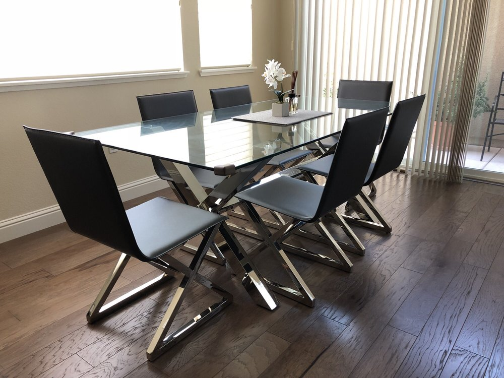 z gallerie chairs steel chair for garden axis dining table and yelp 75 photos