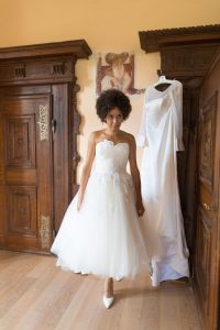 Gorgeous dresses both from Vows!
