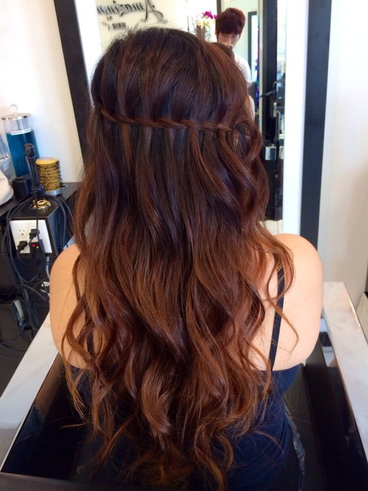 Hoang Did This Hair Style For My Graduation Day It Was A Long