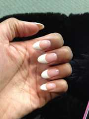 pointed french tip - yelp