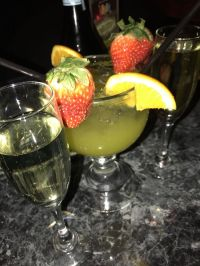 Baller drink comes with bottle of champagne - Yelp
