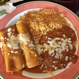 Beef enchiladas rather bland unfortunately  Yelp