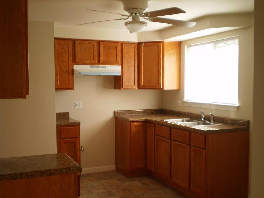 Budget friendly kitchen remodelbasic oak cabinets