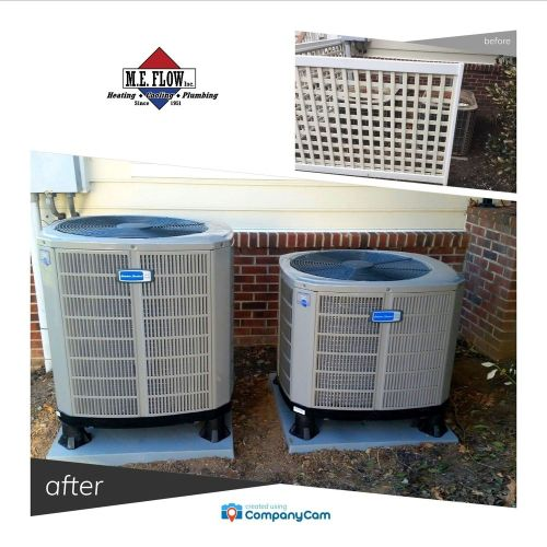 small resolution of photo of m e flow leesburg va united states hvac american standard system