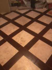 Tile With Wood Border | Tile Design Ideas