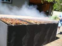 List of Synonyms and Antonyms of the Word: open pit grill