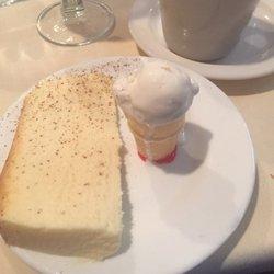 Photo Of Chandelier Restaurant Bayonne Nj United States Cheese Cake For Dessert