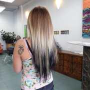 spot hair design - extensions
