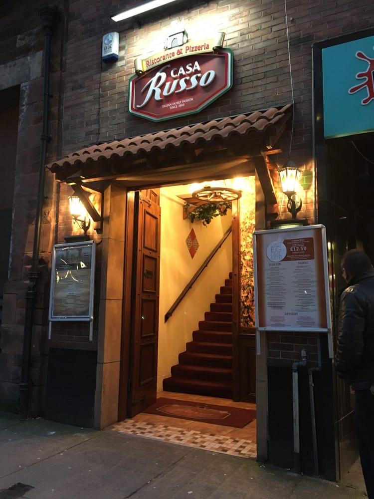 Casa Russo  CLOSED  15 Photos  10 Reviews  Italian  360 Byres Road Hillhead Glasgow